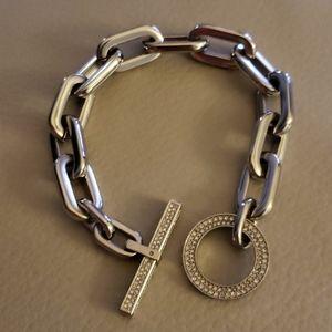 Michael Kors chain link bracelet